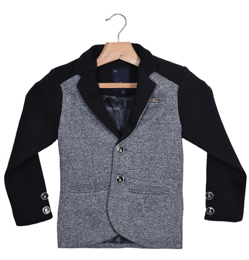 Style booster Grey-Black Coat