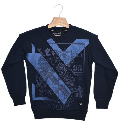 Vintage warmth Navy Sweatshirt