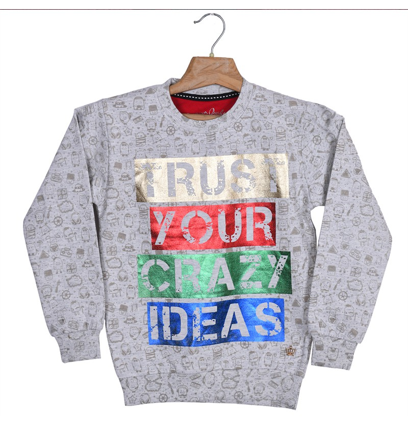 Crazy Ideas ECRU Sweatshirt