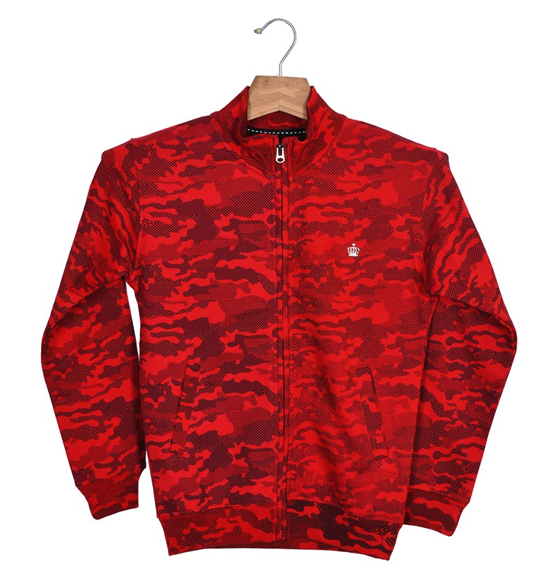 Rough & Tough Red Sweatshirt