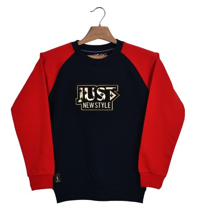Just New Style Navy Sweatshirt