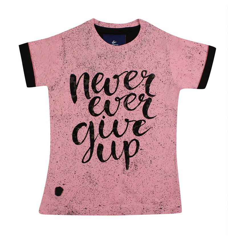 Pink Never Ever Give Up...