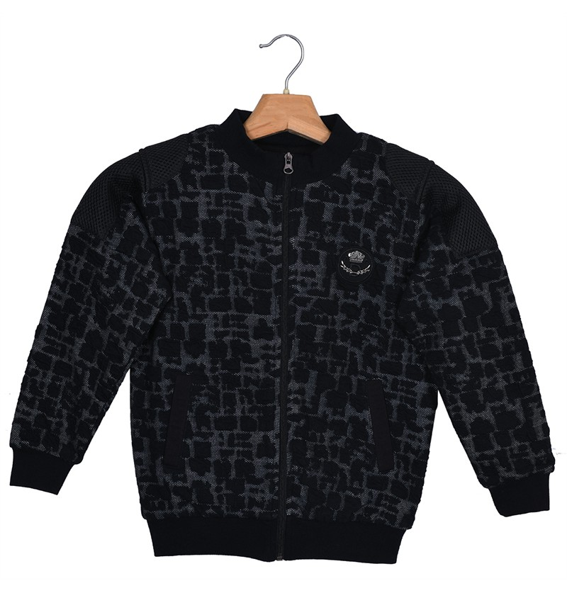 Jacquard king Black Sweatshirt