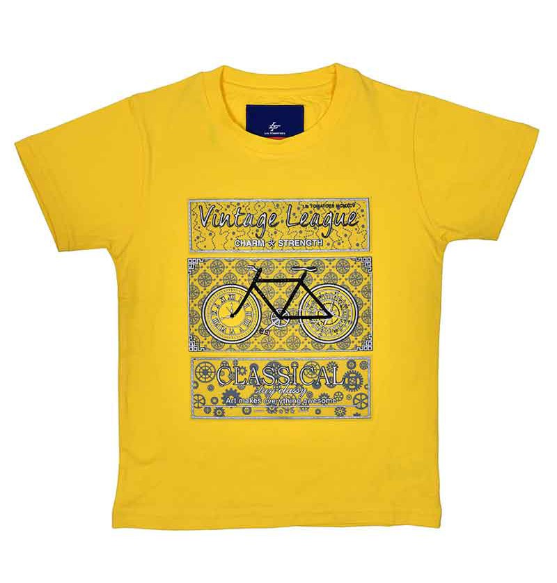 Lemon Yellow T-shirt - 1741