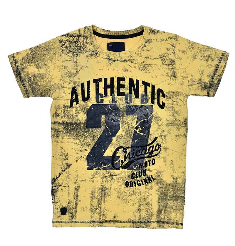 Authentic Yellow T-Shirt -...