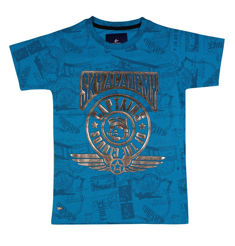 Sky Academy Turquoise T-shirt