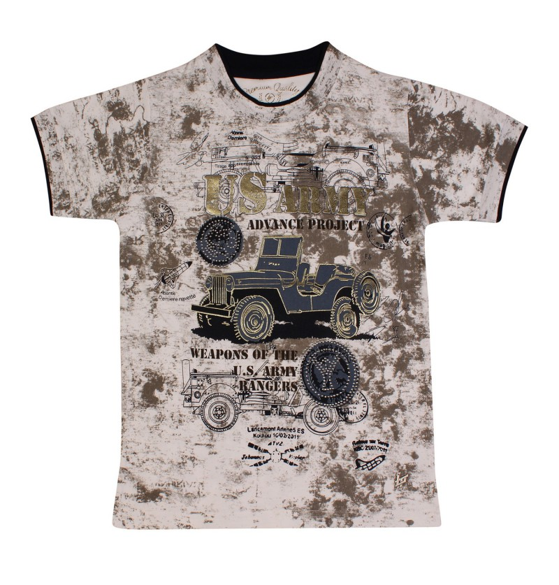 US Army Off White T-shirt