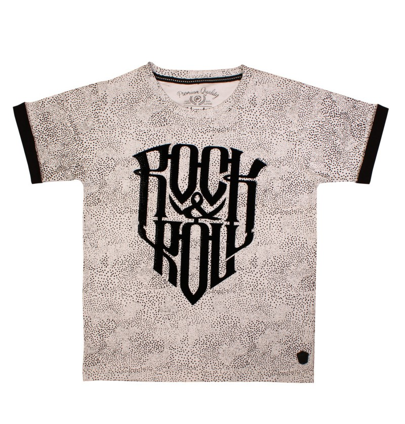 Rock & Roll White T-Shirt
