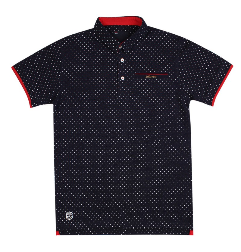 Dotted Beauty Navy Blue...