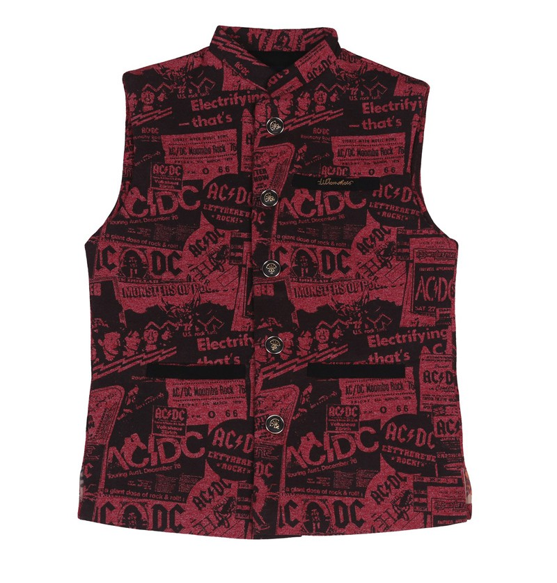 Indo pop Maroon Modi Jacket