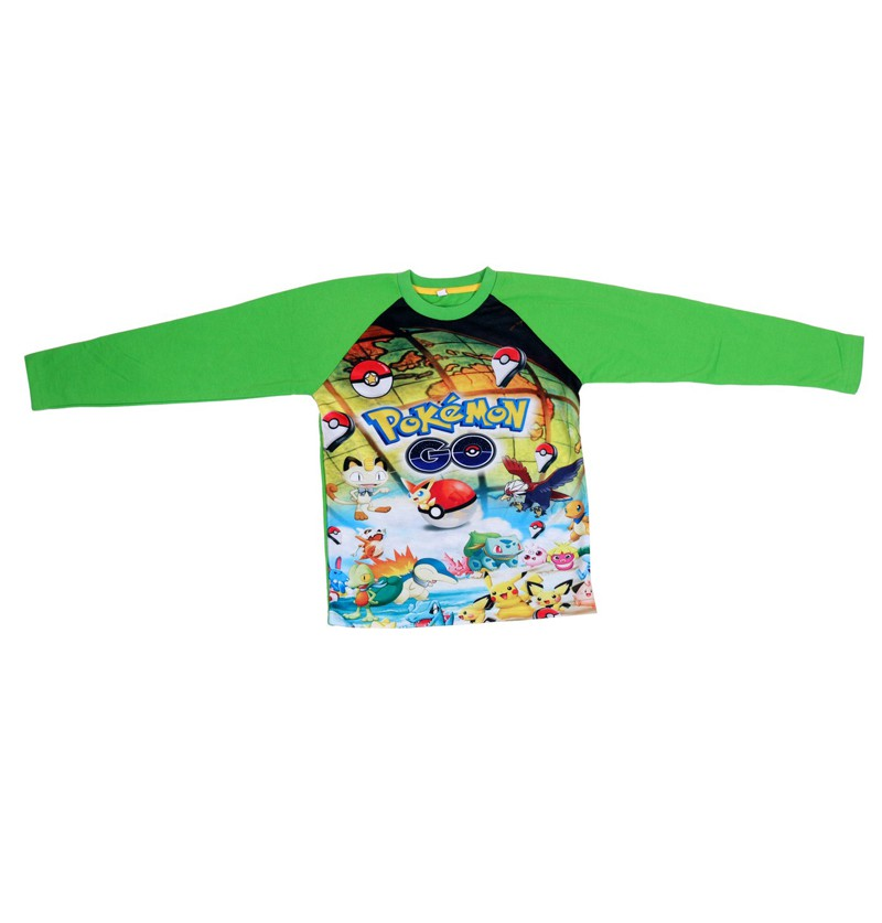 Pokemon Go Green Sweatshirt