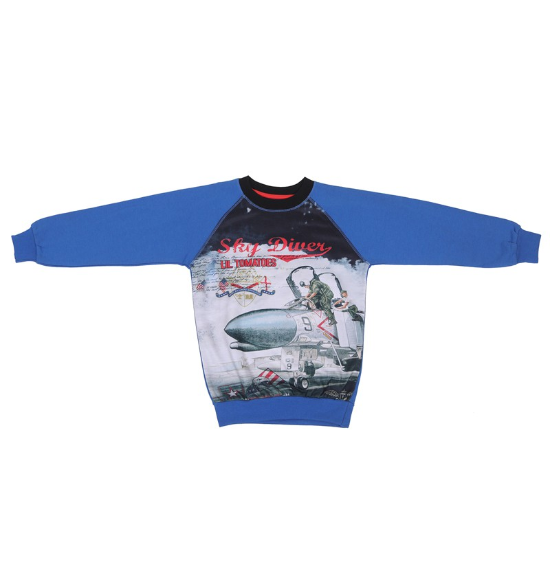 Sky Diver Royal Sweatshirt