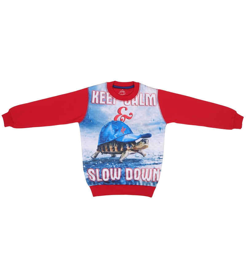 Aqua Life Red Sweatshirt