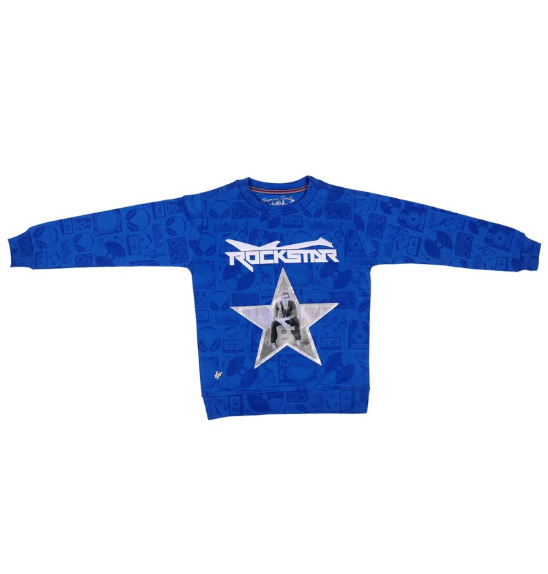 Rock star Royal Sweatshirt