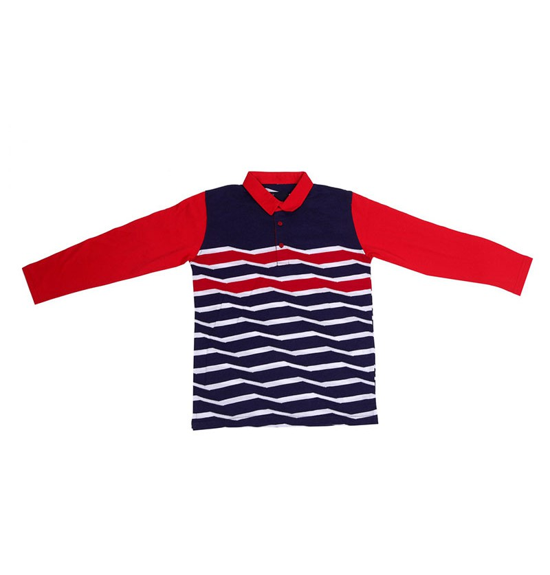 Fashion Waves Navy T-Shirt