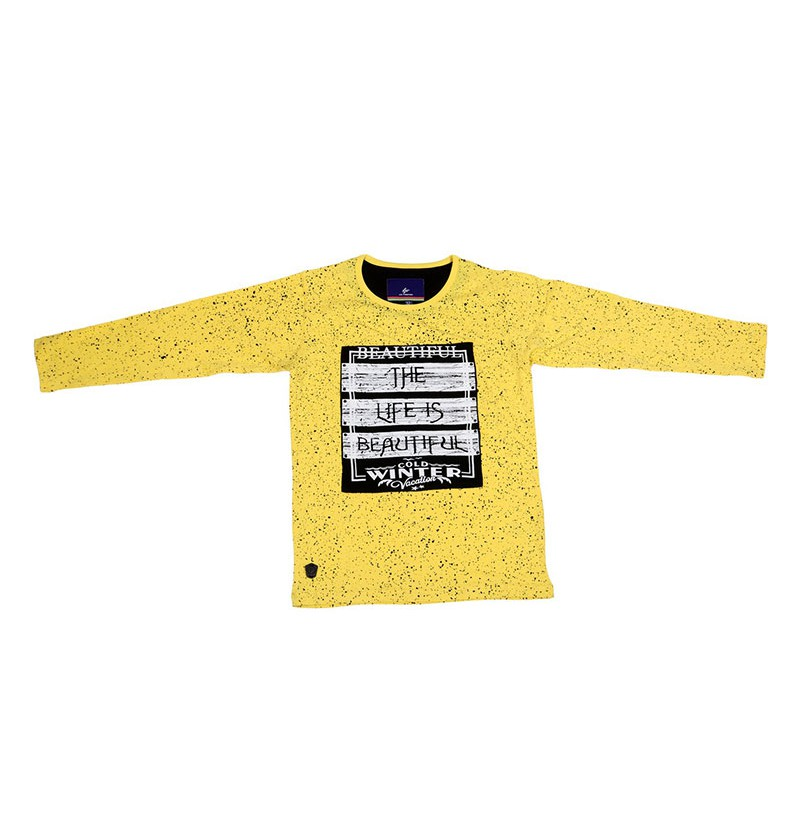 Winter vacation Yellow T-Shirt