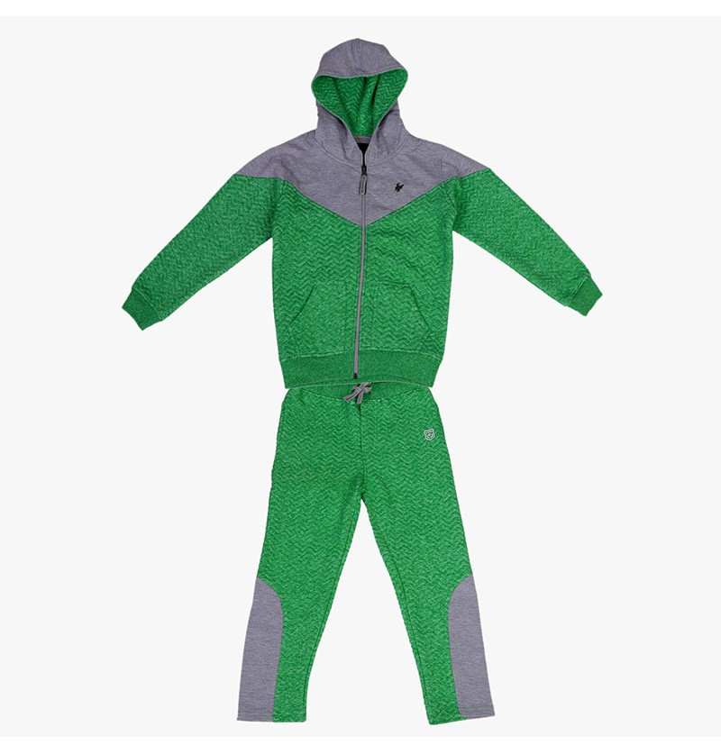 Super funky green Track Suit