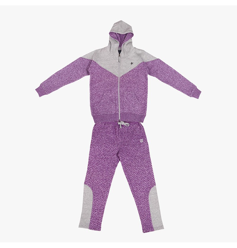 Super funky Purple Track Suit